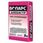 БОЛАРС Алебастр серый, 30 кг