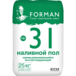 Наливной пол Forman 31, 25 кг