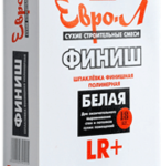 Шпаклевка ЕВРО-Л Финиш 18 кг