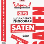 Шпатлевка Евро Л Сатен 25 кг