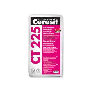 Ceresit (Церезит) CT 225 (белая), 25 кг - шпатлёвка цементная