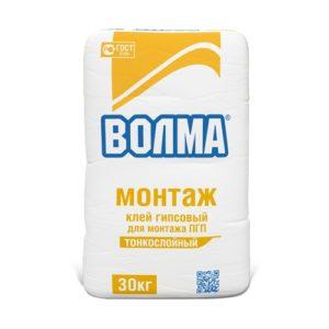 Волма-Монтаж, 30 кг - клей монтажный