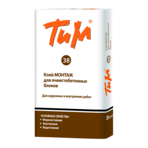 Клей для блоков ТиМ 38, 25 кг
