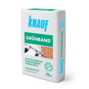 Knauf - Грюнбанд, 25 кг - цементная штукатурка
