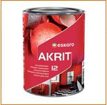 Краска Eskaro AKRIT 12