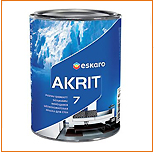 Краска Eskaro AKRIT 7