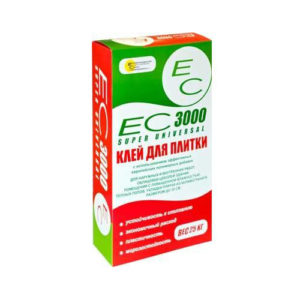 ЕС 3000, 25 кг – клей для плитки