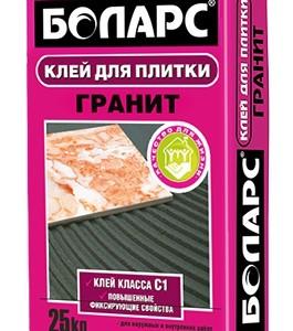 Боларс Гранит, 25 кг - клей для плитки
