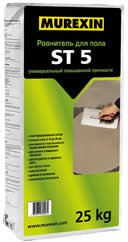 Ровнитель для пола MUREXIN ST 5(25 кг)