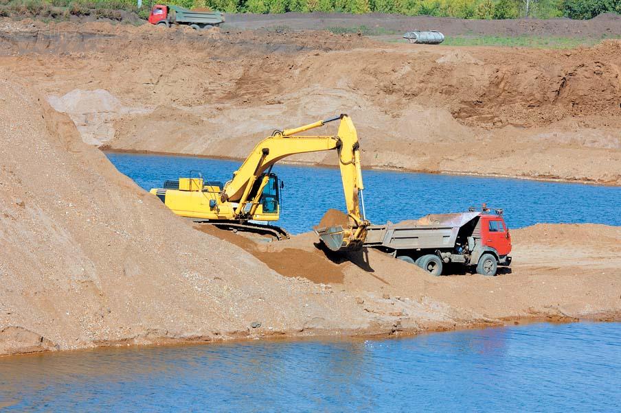 Песок речной – идеальный вариант для строительных работ