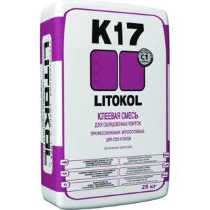 Клей для плитки LITOКOL K17