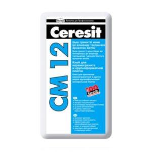 Клей для плитки Церезит СМ 12