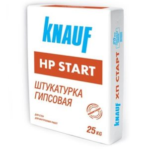 Штукатурка Knauf ХП Старт,25 кг