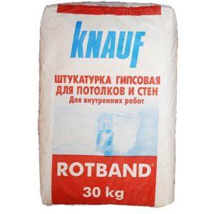 Штукатурка Knauf Ротбанд, 30 кг