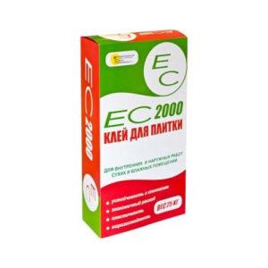 ЕС 2000, 25 кг – клей для плитки