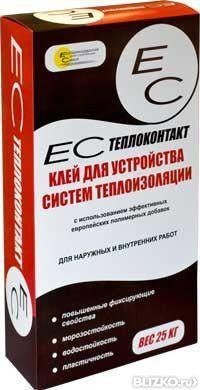 Клей ЕС Теплоконтакт 25 кг