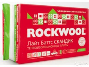 Rockwool Лайт Батс Скандик 100 мм, 2.88 м2