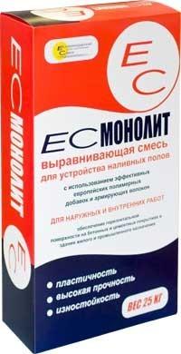 Наливной Пол ЕС МОНОЛИТ 25 кг