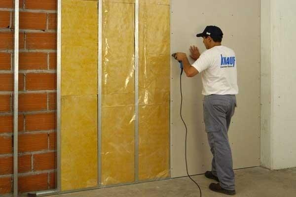 Шумоизоляция стен: основные направления работ.