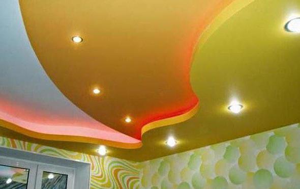 Гипсокартонные подвесные потолки: плюсы и минусы