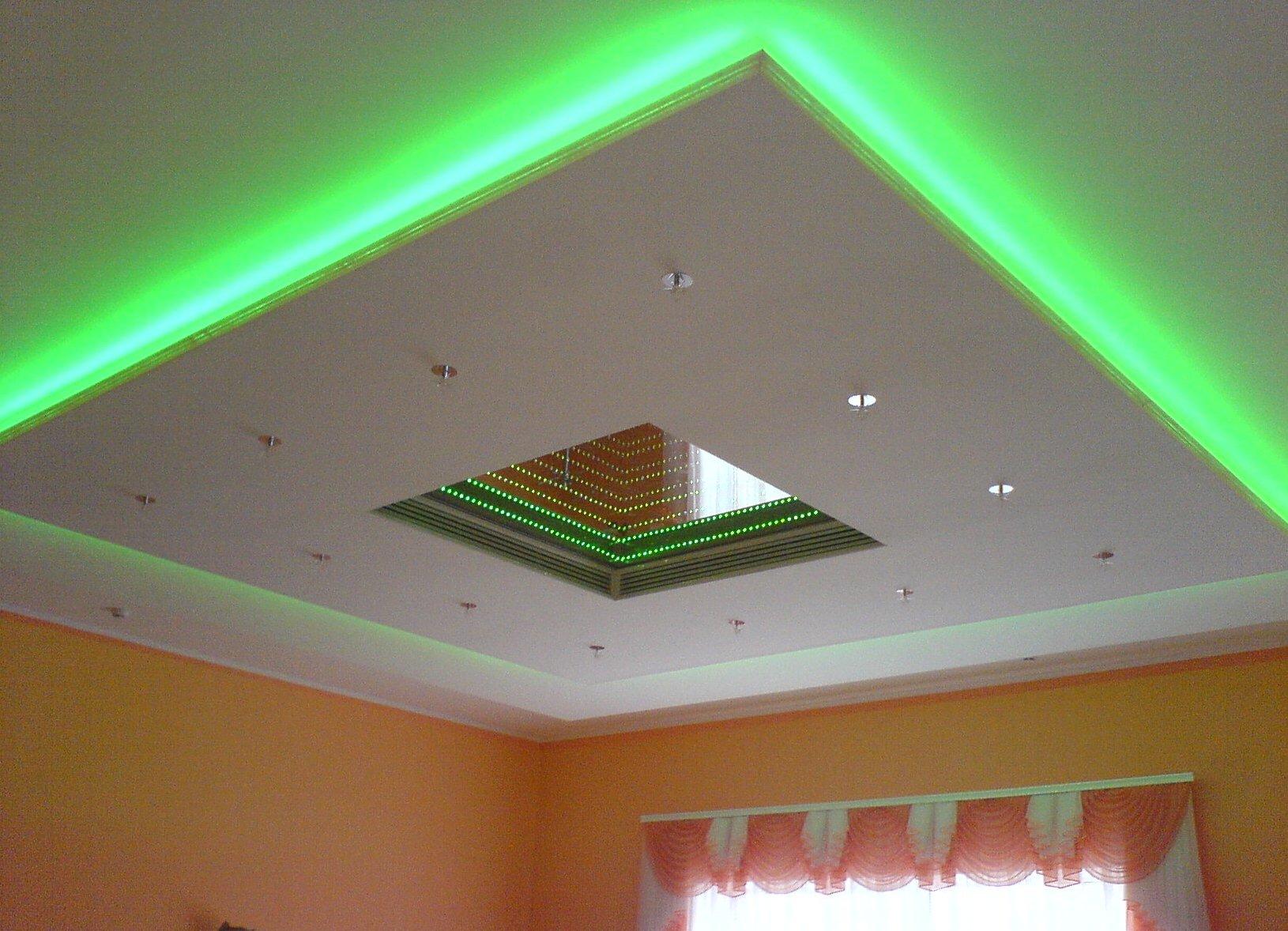 Что такое подвесной потолок?
